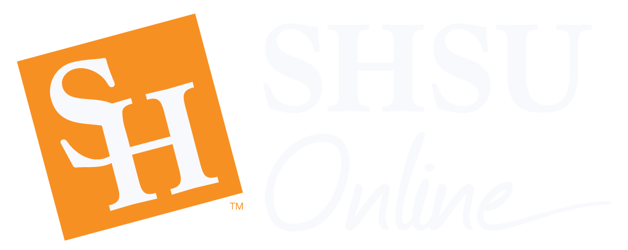 SHSU Online. Sorry, your browser doesn't support SVGs.