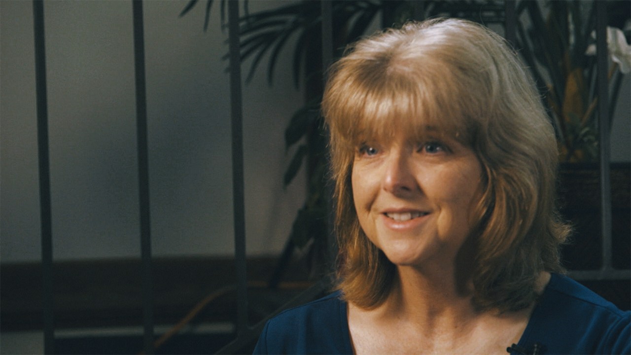 Photo of Terri Allison in Her Office